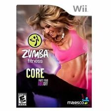 Zumba Fitness Core Nintendo Wii Exercise Work Out Game