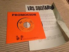 "LOS SOLITARIOS - EXTRAÑO 7"" SINGLE ROCK AND ROLL"