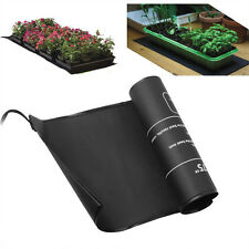 "110V Seedling Heat Mat 10""x20.75"" Seed Starter Pad Germination Propagation Clone"