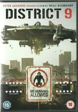 DISTRICT 9 DVD (2009) sci-fi thriller ALIENS IN SOUTH AFRICA film Peter Jackson