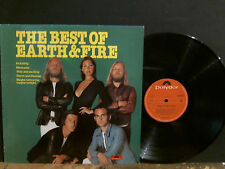EARTH AND FIRE  The Best Of . . .  LP  Dutch  Prog / Psych / Symphonic   RARE !!