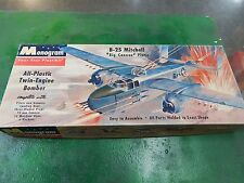Monogram  plastic model kit 1/72 scale B-25 MITCHELL