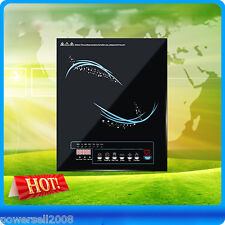 New Black High-Quality Household Appliance Touch Sensor Control Induction Cooker
