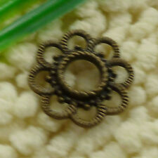 free ship 120 pcs Antique bronze flower connector 26x3mm #3155