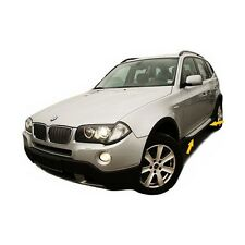 2 MARCHE PIEDS MARCHE-PIEDS JUPES LATERALES ALU OEM LOOK BMW X3 E83 2004 A 2010