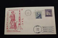 SPACE COVER 1973 MACHINE CANCEL SAC MINUTEMAN 3 INSTANT ICBM LAUNCH (3753)