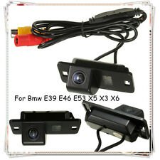 Car Reversing Parking Camera Rear View Cam CCD For BMW 3/7/5 Series E39 E46 X5