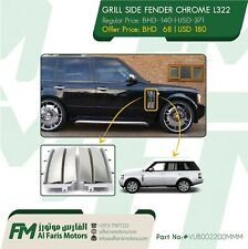 GRILL SIDE FENDER CHROME RANGE ROVER L322 VUB002200MMM