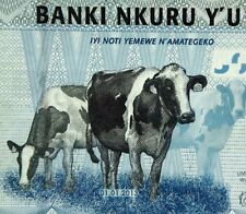 COW BANKNOTE 2013 RWANDA 500 Francs African Paper Money Authentic