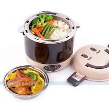 UK PLUG Electric 1.3L Lunch Small Rice Cooker Vacuum Seal Steamer Food Warmer#A2