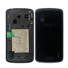 Housing Battery Back Cover Case Door Rear Glass NFC Charger For LG E960 Nexus 4