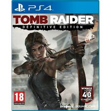 TOMB RAIDER DEFINITIVE EDITION GIOCO PS4 Nuovo di Zecca