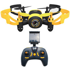 JXD 512W Mini UFO Remote Control Quadcopter with HD Camera WiFi Control FPV ab