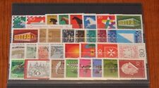Germany Complete Year 1969 Stamp Set w/ SS Mint Never Hinged MNH German Stamps