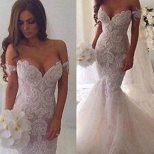 Neu 2017 Brautkleid Hochzeitskleid Abendkleid Ballkleid Gr 32 34 36 38 40 42 44+