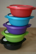 Tupperware 5 Crystalwave Microwave Container 2 1/2 Cup  New