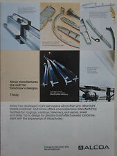 8/1973 PUB ALCOA ALUMINIUM PRECISION FORGING AEROSPACE INDUSTRY ORIGINAL AD