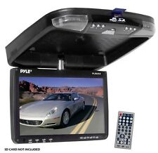 "NEW Pyle PLRD92 9"" Roof Mount Monitor DVD CD USB SD Player FM Modulator & Remote"