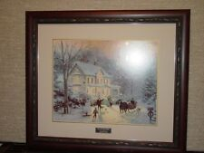 # Thomas Kinkade Winter  Framed Art Prints  New,Vintage Home Interiors & Gifts