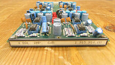 Studer 900 series mixer card, 4 bal. amp. 6db, type.nr; 1.915.914-00, nr.1