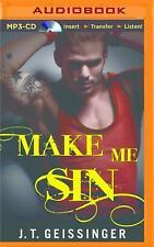 Bad Habit: Make Me Sin 2 by J. T. Geissinger (2016, MP3 CD, Unabridged)