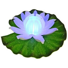 Lighted Floating Glow Lily Glowing Water Garden Pool Pond LED Decoration 5.5""