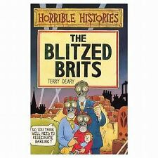 The Blitzed Brits (Horrible Histories)-ExLibrary