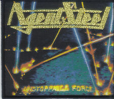 AGENT STEEL-UNSTOPPABLE FORCE- WOVEN PATCH- POWER-SPEED-METAL
