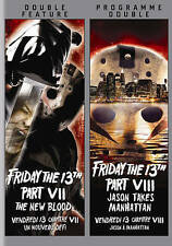 Friday the 13th Part VII and Friday the 13th Part VIII (DVD) New FAST SHIPPING