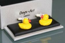 Novelty Cufflinks - Yellow Duck Design * New * Boxed Gift
