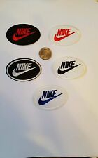 Lot of 5 - NIKE Logo  PATCH Nice  embroidered iron on Patches  2.5x 1.5""