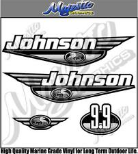 JOHNSON - 9.9hp - OUTBOARD DECALS