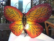 Balinese Design Butterfly Wall/Table Lamp (resin & metal)