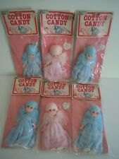 "RARE ! VINTAGE WOOLWORTH BIG EYES DOLL LOT "" COTTON CANDY DOLL "" SWEET TREAT ! !"