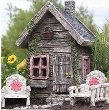 My Fairy Gardens Fairy Shed with Swinging Door New Fairy House Fairy Cottage