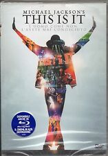 MICHAEL JACKSON DVD THIS IS IT 2010 ediz.italiana MADE IN ITALY sigillato SEALED
