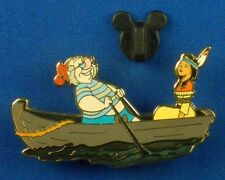 Disney Pin Peter Pan's Mr. Smee & Tiger Lily from 60th Anniv 2013 LE 250 #95163