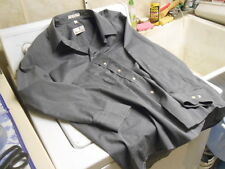 Etienne Aigner Gray Button Down Long Sleeve Shirt