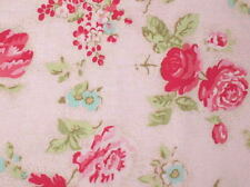 CLEARANCE! Cottage Shabby Chic Lecien Durham Quilt Anew Floral 35023-20 Pink BTY