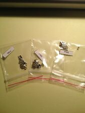 3 Sets of replacement screws for the Blackberry Torch 9800/9810 Phones