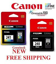 Canon Printers 2 X PACK Black/Color Genuine Ink Bundle