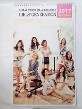SNSD Girls Generation KPOP 2017 Photo Wall Calendar New Year Calender Poster SM