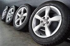 """Original Audi A1 S Line 8X 8X0071495 15 Zoll Winterräder Dunlop """"AO"""" M+S"""