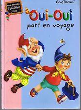 Enid BLYTON * Oui Oui Part en Voyage *  Première Bibliothèque rose  Hachette
