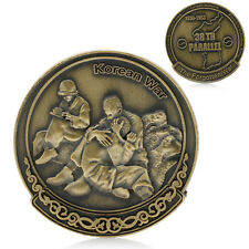Korean War 38th Parallel Military Challenge Art Collection  Commemorative Coins