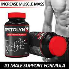 TestolynX Best Test Booster, 2X Stronger than Nugenix, Get Lean and Muscular!!