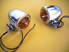 CUSTOM BULLET  LIGHTS Dual Filament  INDICATORS / PARKER  HOT ROD RAT ROD