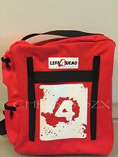 "Left 4 Dead Health Pack Bag Backpack + LOGO - 11.5""x9.5""x3.5"" Avoid The Zombies!"