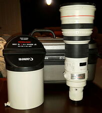 Canon ef 600mm f4 4.0 f/4.0 L 600 4.0  600mm/4.0  IS lens. Very SHARP at 4.0