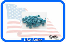 1000 X -Ray Opaque ORTHODONTIC LOOSE SEPARATORS BLUE Dental Supplies made in USA